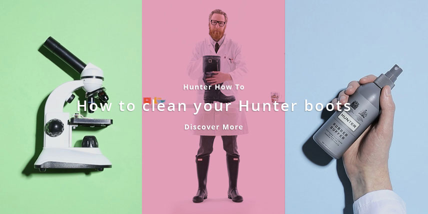 How To Clean Your Hunter Boots